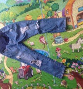 Модные джинсы на беременную