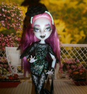 Авторская кукла- Ooak monster higt- готичная дева