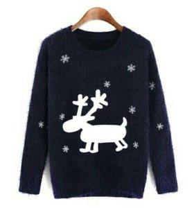 🔸 Мягкий свитер с оленем MODIS XL 🔸