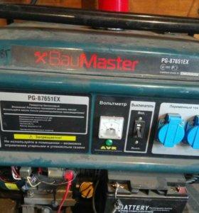 Бензиновый генератор 6 кВт новый.