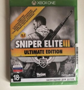 Sniper elite 3 ultimate edition (xbox one) new
