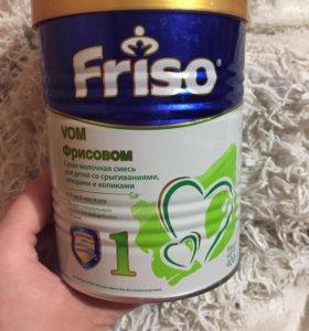Фрисовом молоч смесь  (сроки в норме)