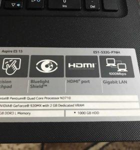 Ноутбук Acer ES15