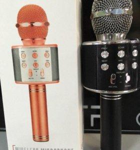 Беспроводной караоке микрофон 2 в 1 Magic Karaoke