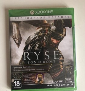 Ryse: Son of Rome legendary edition (Xbox One) New