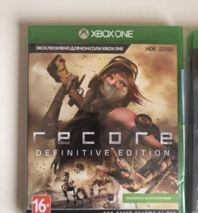 Recore definitive edition (xbox one) new