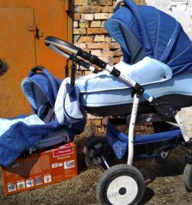 Отличная коляска zipy happych 2 в 1