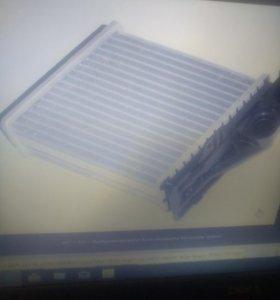 Радиатор отопителя на логан