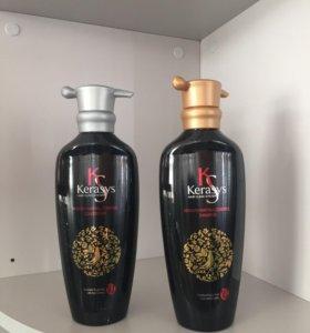 Шампунь и кондиционер от выпадения волос KeraSyS