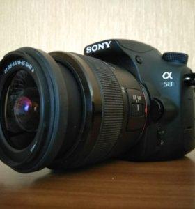 Зеркальная фотокамера sony a58