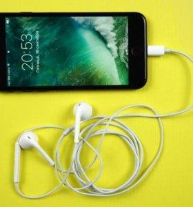 Наушники для iPhone 7- оригинал