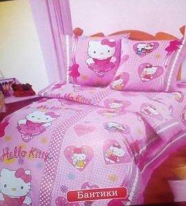 Комплект постельного белья в кроватку