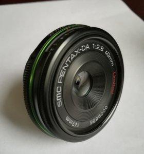 Smc pentax da 40 mm limited