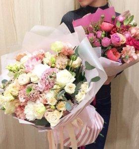 Цветы, букеты, доставка.
