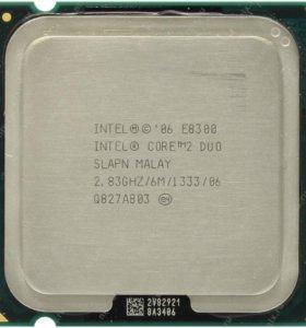 Продам процессор Intel Core 2 Duo E8300 (2830МГц)