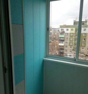 Установка пластиковых окон, балконов, лоджий