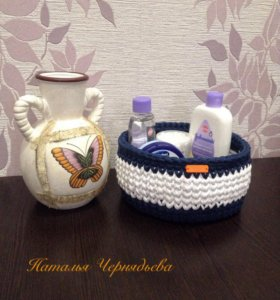 Декоративные корзинки для хранения