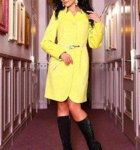 Пальто демисезонное из итальянского кашемира
