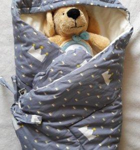 Конверт-одеялко на выписку и после
