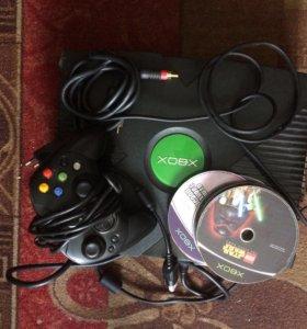 Игровая приставка Xbox 1 поколения