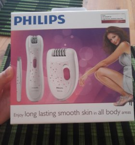 Эпилятор Philips новый