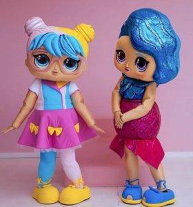 Ростовые куклы, аниматоры