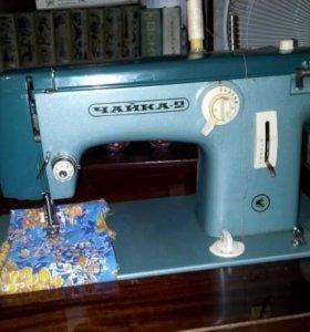 Швейная машинка ЧАЙКА с электроприводом