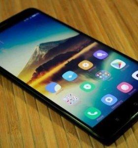 Новый телефон Ксиоми Ми Макс 2 чёрный.