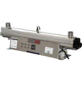 УФ-стерилизатор для бактериолог-кой очистки воды