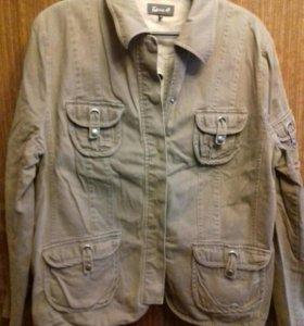 Пиджак джинсовый 56-58 размер