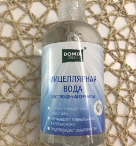 Мицелярная вода с коллоидным серебром
