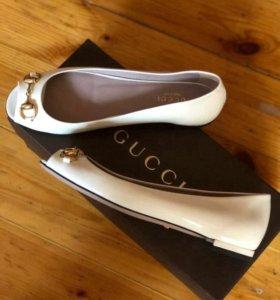 Новые балетки туфли-лодочки Gucci
