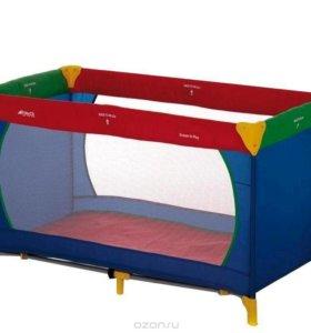 Манеж-кровать Hauck новый