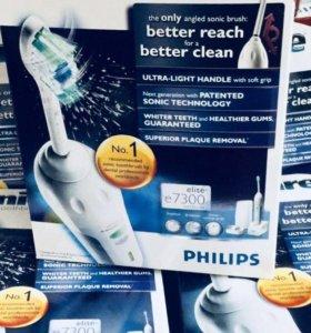 Звуковая зубная щетка Philips e7300 elite