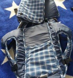 Кенгуру-рюкзак.