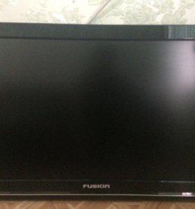 Продам на запчасти телевизор fusion
