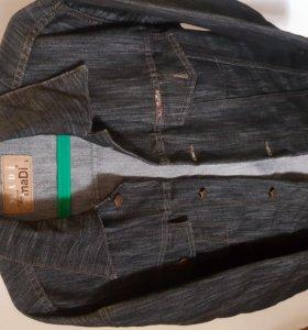 Куртка джинсовая тонкая