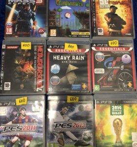 Диски на PS 3, цены разные!