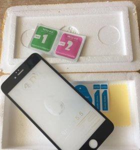 4D Стекло на Iphone 6+