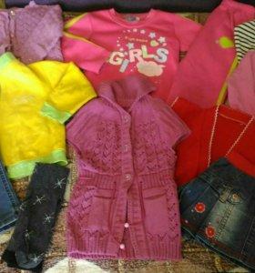 Пакет вещей на девочку 3-4 лет