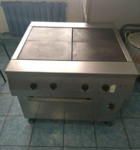 Плита 4-х конфорочная Тулатехмаш с духовкой