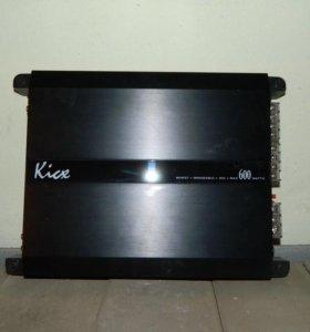 Усилитель kicx ar 2.120 600w