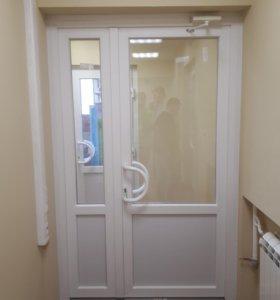 Двери и окна ПВХ под заказ