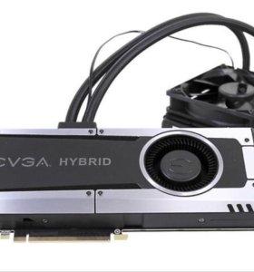 видеокарта GTX 1070 EVGA hybrid