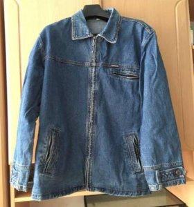 Джинсовый пиджак куртка 52-54