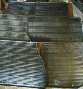 Резиновые коврики mitsubishi outlander 3