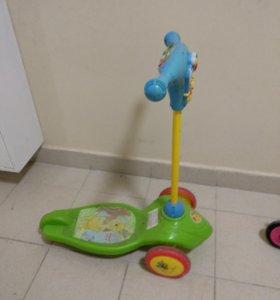 Детский самокат Kiddieland 045583 Winnie The Pooh