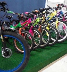 Велосипеды, самокаты, беговелы, скейтборды