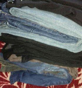 Много брюк и джинс на 42-46рр