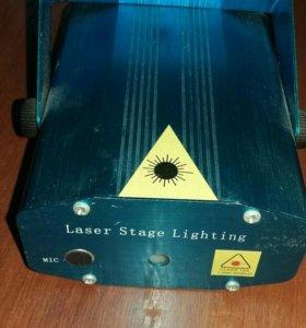 Лазерный проектор Laster Stage LightingСветомузыка